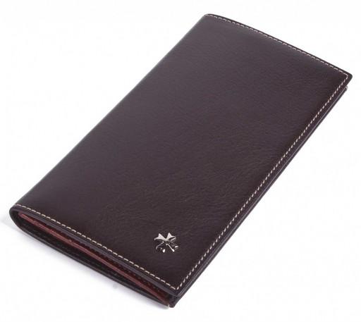 Бумажник мужской кожаный NarVin 9667 N.Vegetta Brown