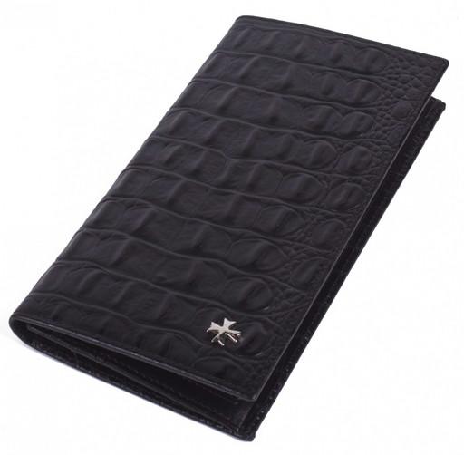 Бумажник мужской кожаный NarVin 9667 N.Bambino Black