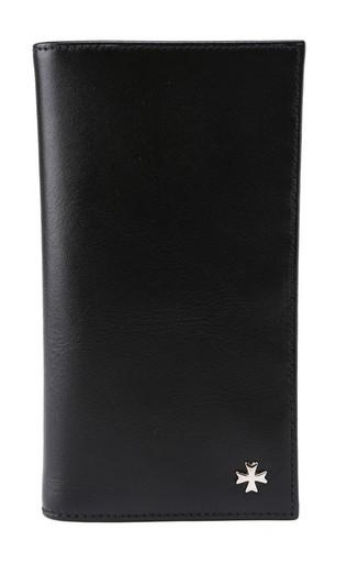 Бумажник мужской кожаный NarVin 9686 N.Vegetta Black