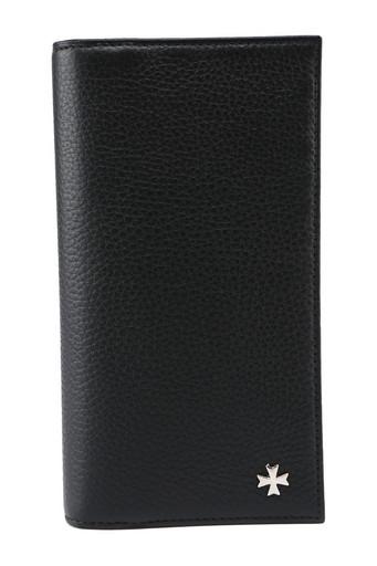 Бумажник мужской кожаный NarVin 9686 N.Polo Black
