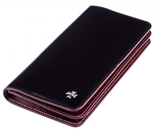 Бумажник кожаный NarVin 9689 N.Vegetta Black