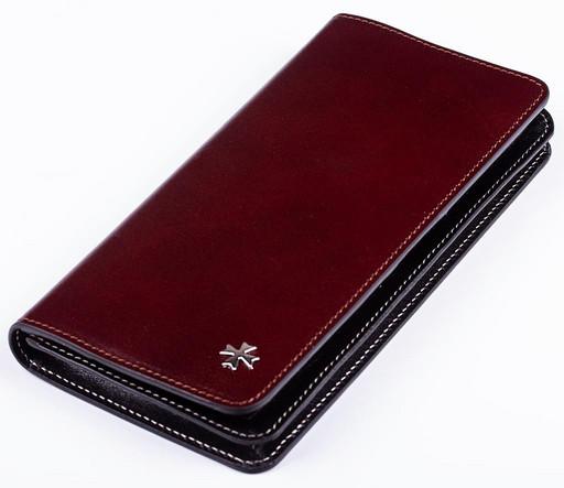 Бумажник кожаный NarVin 9689 N.Vegetta Funduk