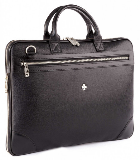 Мужская деловая сумка NarVin 9742 N.Polo/Black