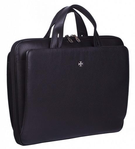 Мужская сумка-портфель NarVin 9753 N.Polo Black