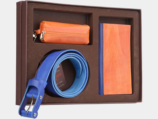 Женский подарочный набор Alexander TS NP010 Orange Blue