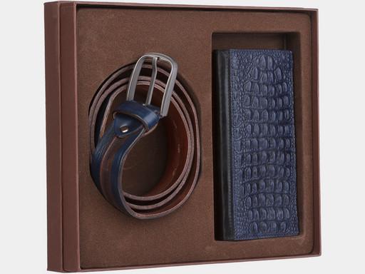 Мужской подарочный набор Alexander TS NP021 Blue