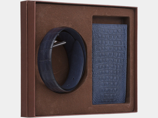 Мужской подарочный набор Alexander TS NP023 Blue