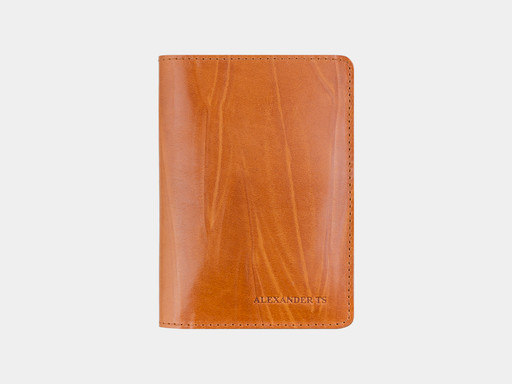 Обложка для паспорта Alexander TS PR006 Mustard
