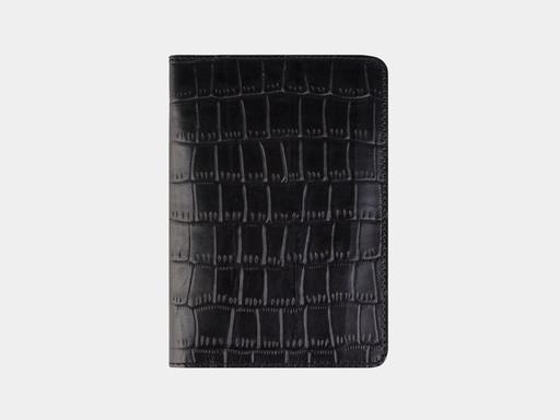 Обложка для паспорта Alexander TS PR006 Black Croco