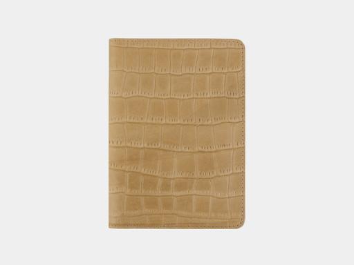 Обложка для паспорта Alexander TS PR006 Beige Croco