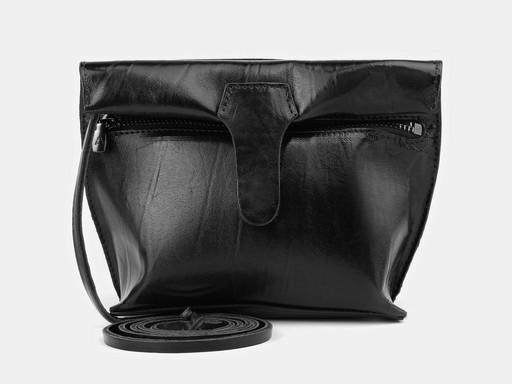 Женская сумка клатч Alexander TS KB002 Black Nikel