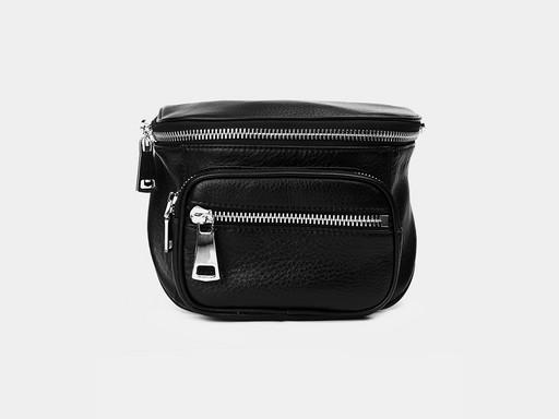 Женская сумка на пояс Alexander TS KBK10 Black