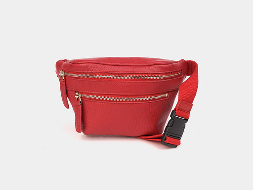 Женская сумка на пояс Alexander TS KB0015 Red M