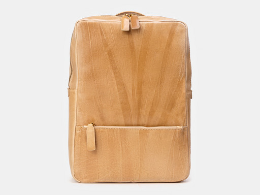 Кожаный мужской портфель Alexander TS R0027 Beige