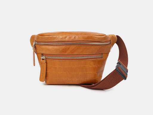 Женская сумка на пояс Alexander TS KB0015 Ohra Croco