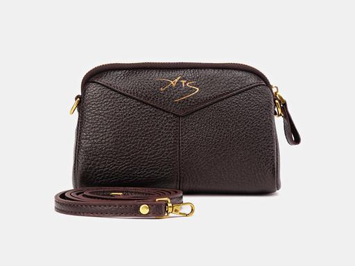 Женская сумка клатч Alexander TS KB0024 Brown FM