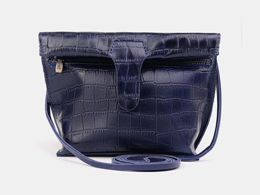 Женская сумка клатч Alexander TS KB002 Blue Croco