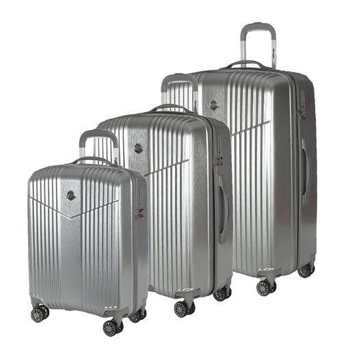 Комплект чемоданов Verage GM17072W 19/24/28 BRUSHED