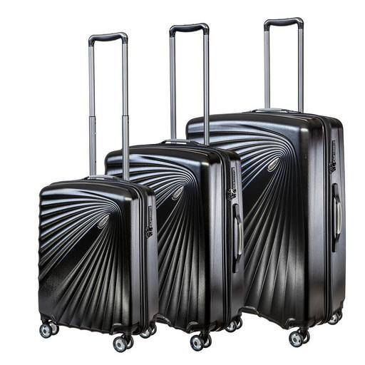 Комплект чемоданов Verage GM18089W 19/24/28 BLACK