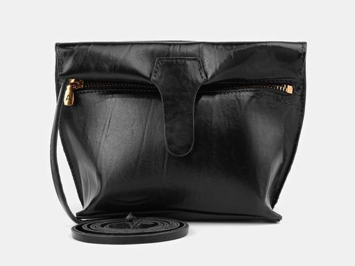 Женская сумка клатч Alexander TS KB002 Black Gold