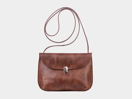 Женская сумка клатч Alexander TS KB0017 Brown