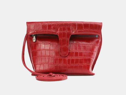 Женская сумка клатч Alexander TS KB002 Red Croco