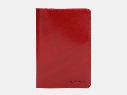 Обложка для паспорта Alexander TS PR006 Red