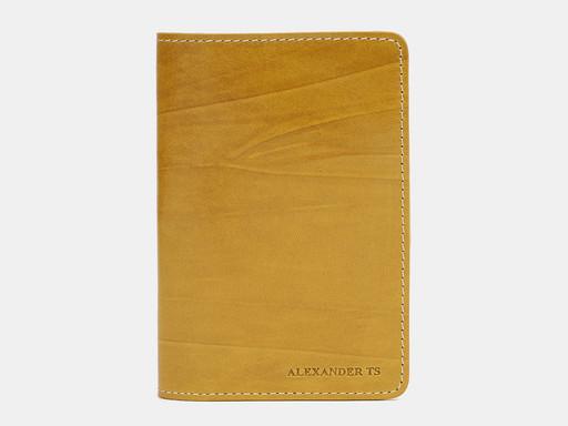 Обложка для паспорта Alexander TS PR006 Yellow