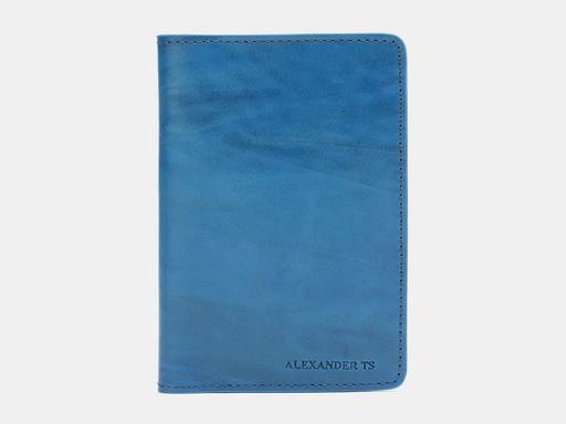 Обложка для паспорта Alexander TS PR006 Aqua