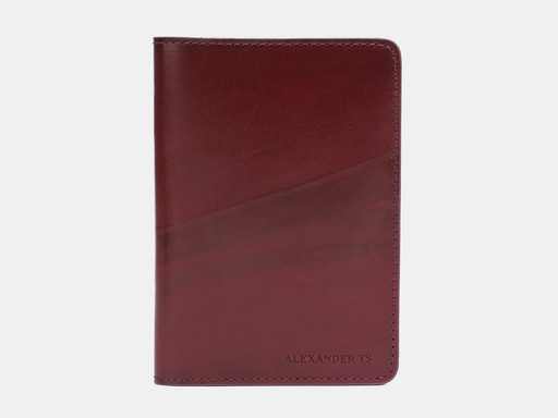 Обложка для паспорта Alexander TS PR006 Cognac
