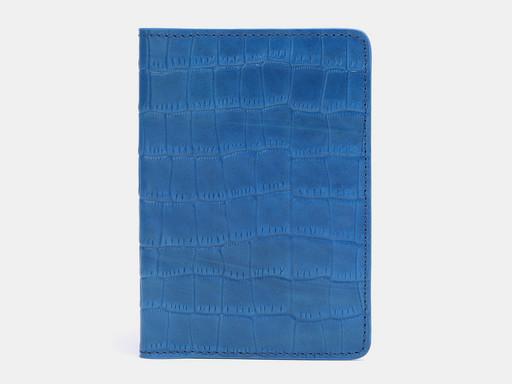 Обложка для паспорта Alexander TS PR006 Aqua Croco