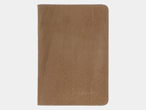 Обложка для паспорта Alexander TS PR006 Dark Beige