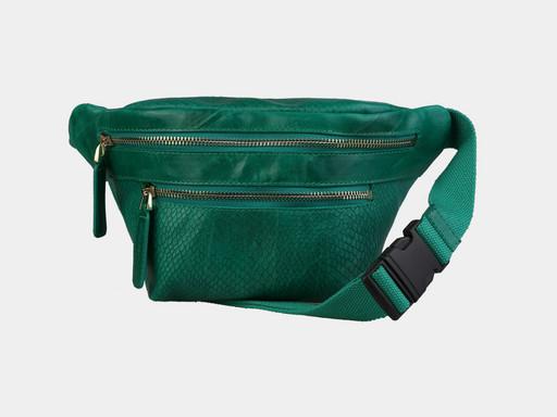 Женская сумка на поясе Alexander TS KB0015 Green Piton