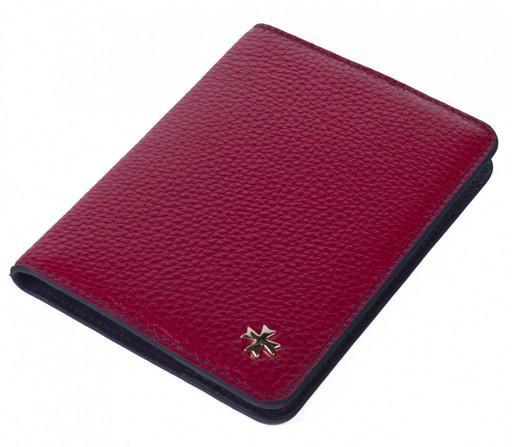 Обложка для паспорта NarVin 9149 N.Polo Red / D.Blue
