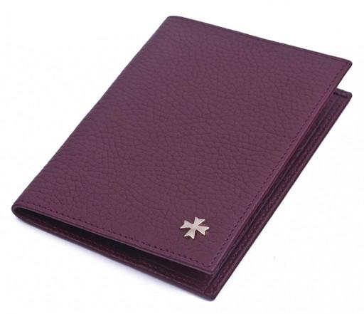 Обложка для паспорта NarVin 9155 N.Polo Bordo