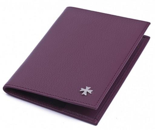 Обложка для паспорта NarVin 9155 N.Polo Burgundy