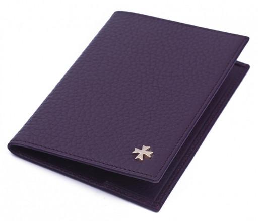 Обложка для паспорта NarVin 9155 N.Polo Grape