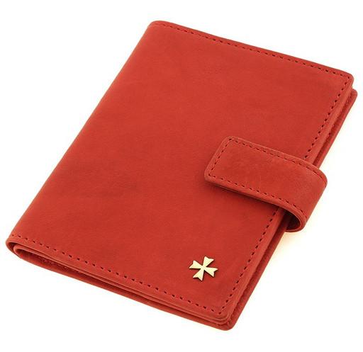 Обложка для автодокументов и паспорта NarVin 9173-N.Gottier Red