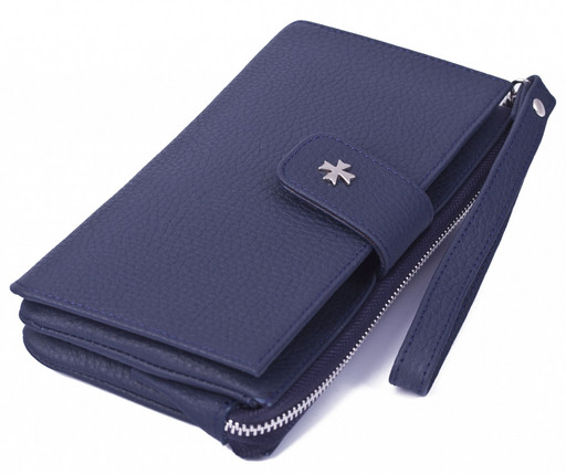 Клатч NarVin 9243 N.Polo D.Blue