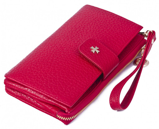 Клатч NarVin 9243 N.Polo Red