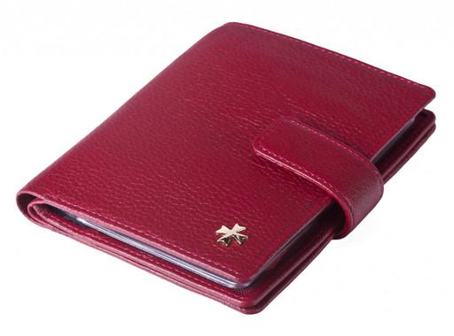 Обложка для автодокументов и паспорта NarVin 9174 N.Polo Red