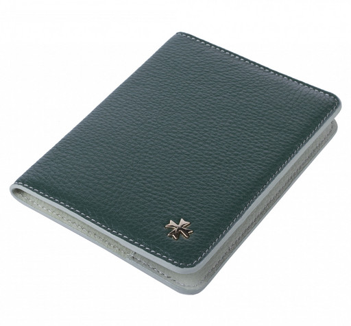Обложка для паспорта NarVin 9149 Polo Green