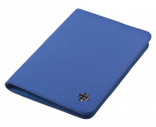 Обложка для паспорта NarVin 9148 N.Polo Royal Blue