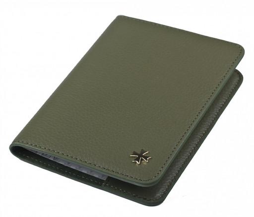 Обложка для паспорта NarVin 9148 N.Polo Olive