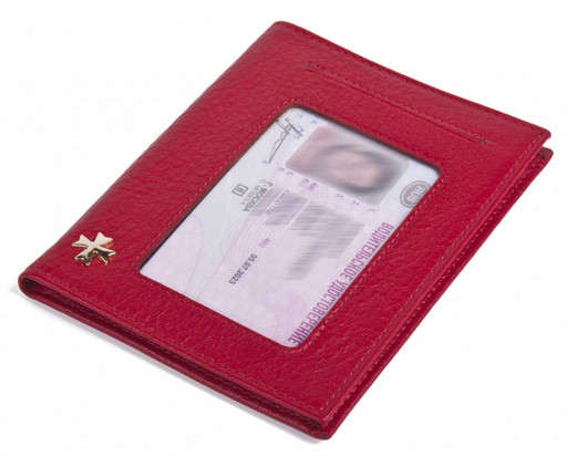 Обложка для автодокументов NarVin 9160 N.Polo Red