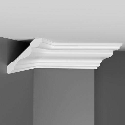 D154 Плинтус потолочный Decomaster (75*75 мм)