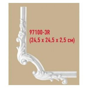 Угол декоративный Decomaster 97100-3R