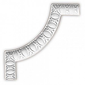 Угол декоративный Decomaster 98885-2