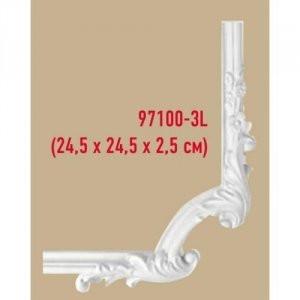 Угол декоративный Decomaster 97100-3lF