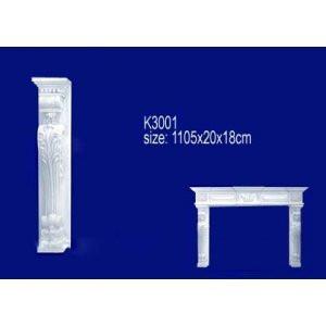 Лепнина Перфект Камин K3001